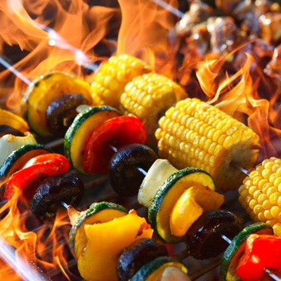 VEGETARISCHE BBQ ( per  persoon)
